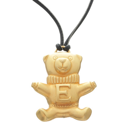 Escada Necklace with bear pendant