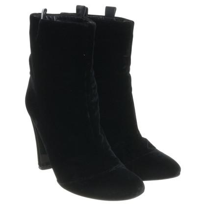 Other Designer Laurence Dacade - ankle boots made of velvet