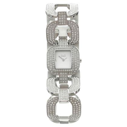 Dolce & Gabbana Orologio da polso con pietre preziose