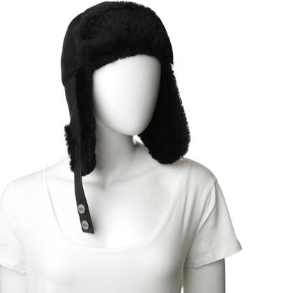 Ugg Mütze aus Lammfell