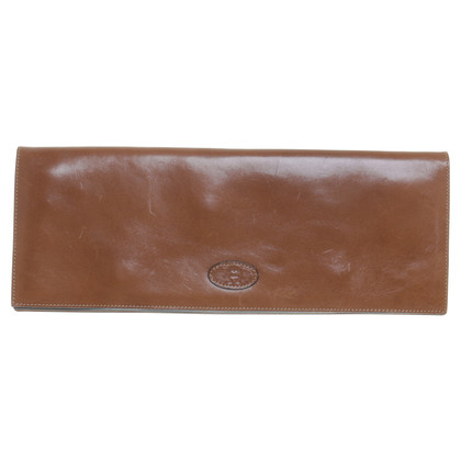 Aigner clutch Brown