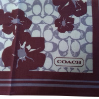 Coach Cloth with floral print