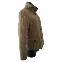 Burberry Quilted Jacket in light brown