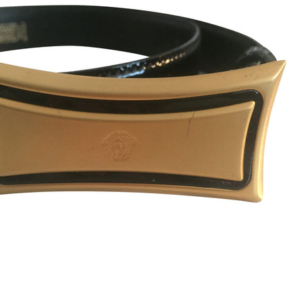 Gianni Versace Black waist belt