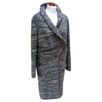 Drykorn Oversized wool coat with alpaca