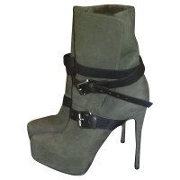 Other Designer Le Silla - ankle boot with rabbit fur