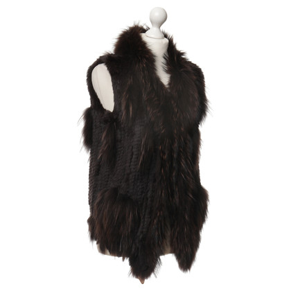 Other Designer O'Donnell - rabbit fur vest