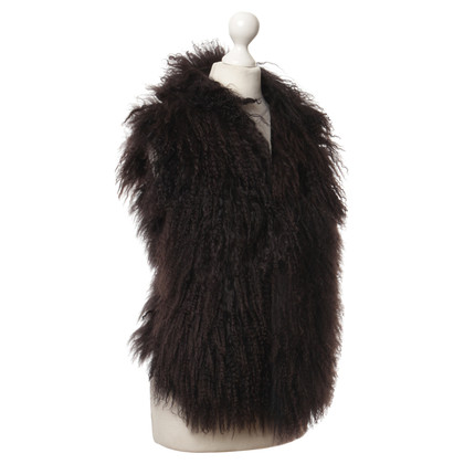 Other Designer Brown Sheepskin vest