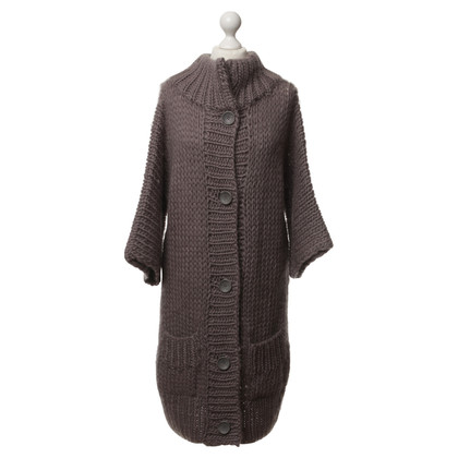 American Vintage Knitted coat in grey