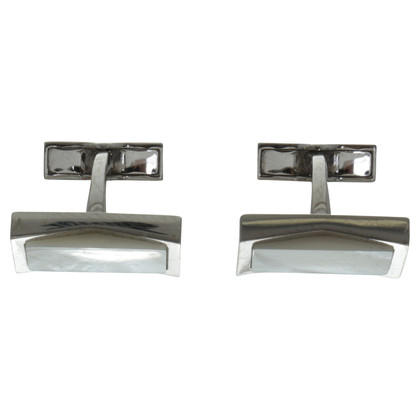 Hugo Boss Cufflinks with mother of Pearl