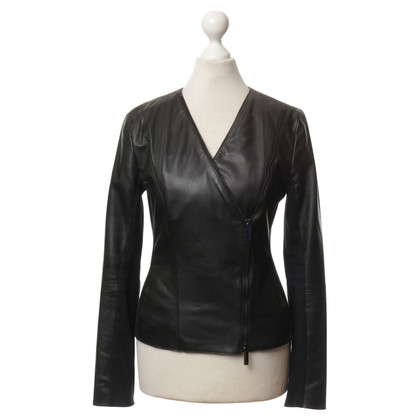 Armani Leather jacket in black