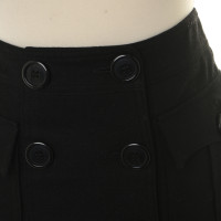 Burberry skirt with double button placket