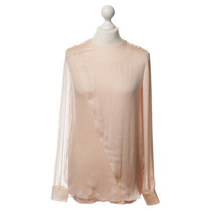 Givenchy Blouse with lower top in pink