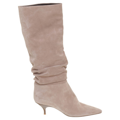 Other Designer Enrico Antinori - suede boots in nude