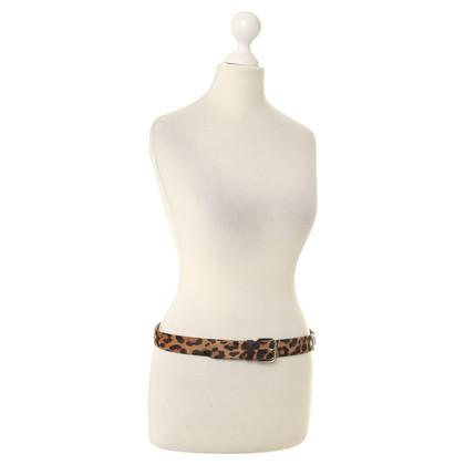 Dolce & Gabbana Belt with short hair fur