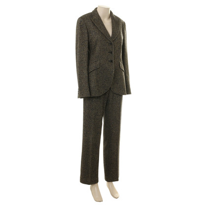 Max Mara Herringbone pants suit