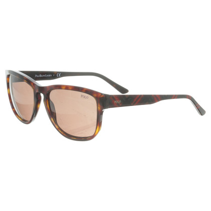 Polo Ralph Lauren Sonnenbrille mit Karo-Detail
