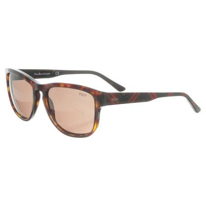 Polo Ralph Lauren Sunglasses with Plaid detail