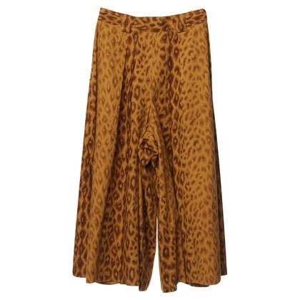 Bogner Pantaloni gonna con stampa leopardo