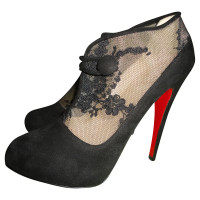 Christian Louboutin Ankle Boots with lace