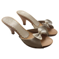 Moschino Cheap and Chic Sandals with Ribbon