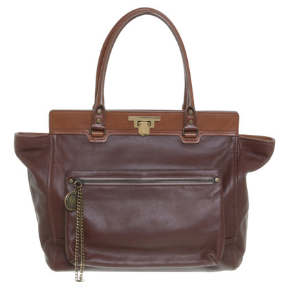 Lanvin Tote in marrone