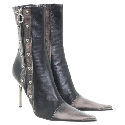 Luciano Padovan Ankle boots leather