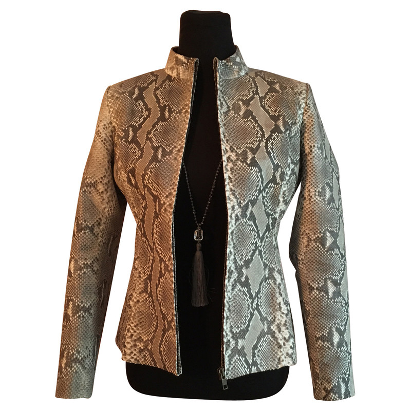 Other Designer Snake leather jacket