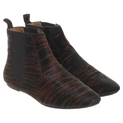 Isabel Marant Etoile Chelsea Boots mit Muster
