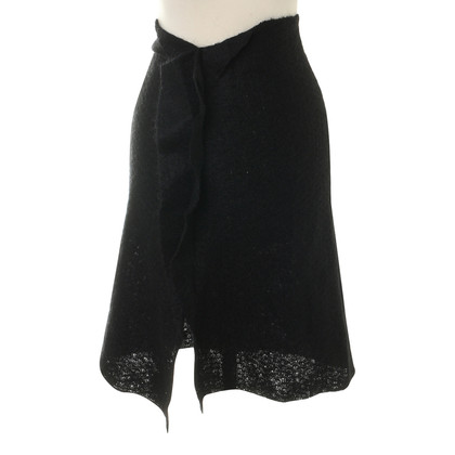 Max & Co Black skirt with lace trim