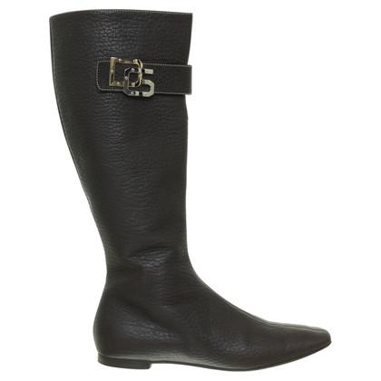 Dolce & Gabbana Stiefel in Braun
