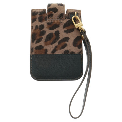MCM Mobile phone pocket with short hair fur