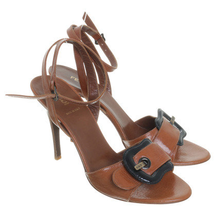 Fendi Sandalen in Cognac