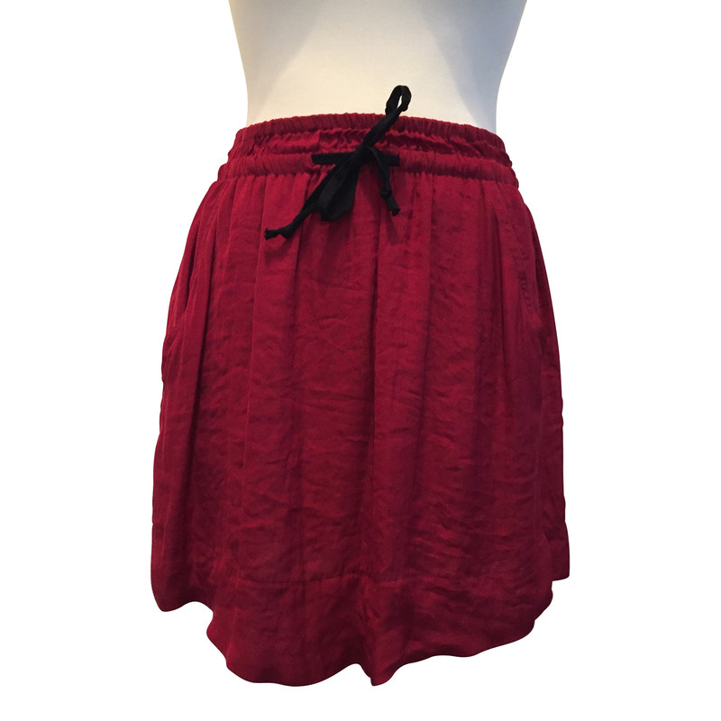 Isabel Marant Etoile skirt in red