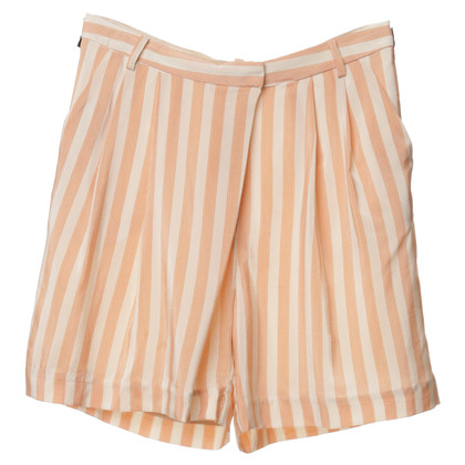 By Malene Birger Silk shorts with stripes