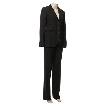 Max Mara Trouser suit with pinstripes