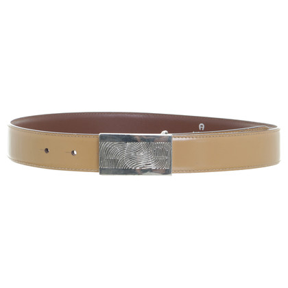 Aigner Belt in beige