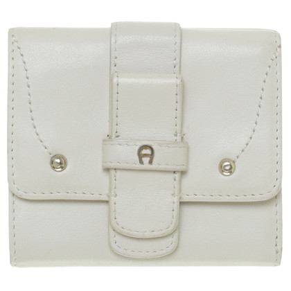 Aigner Wallet in cream
