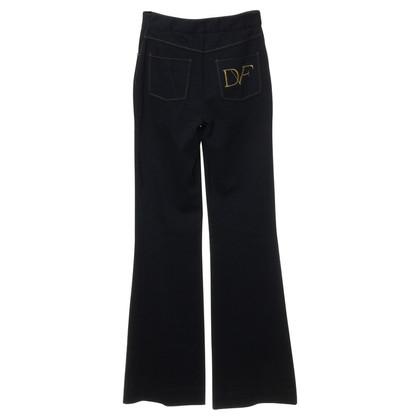 Diane von Furstenberg Marlene pants in blue
