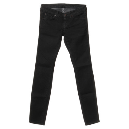 """7 For All Mankind Jeans 'Olivya""""in black"""