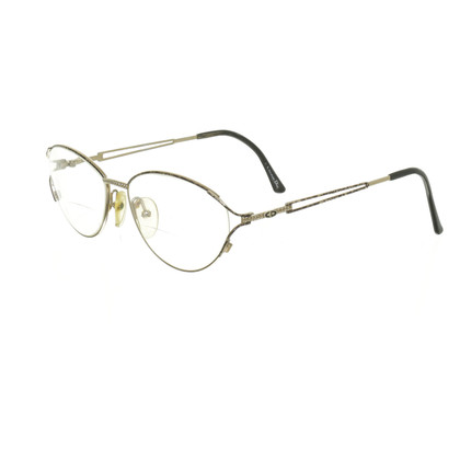 Christian Dior Brille in Goldfarben