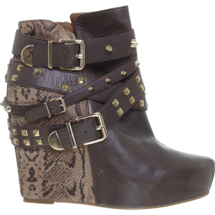 BCBG Max Azria Ankle boots with rivets applications