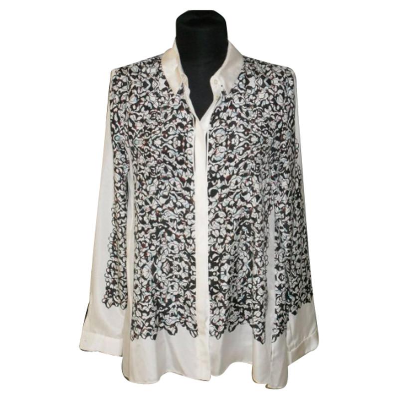 Schumacher Silk blouse with print