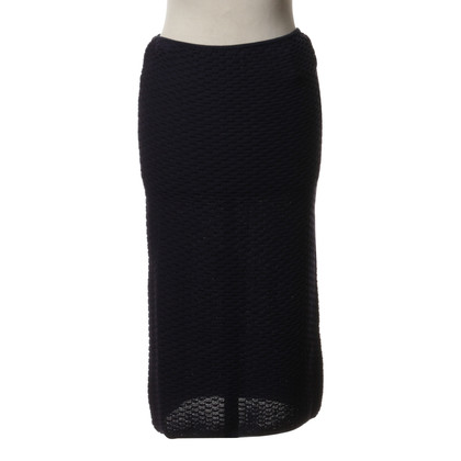 Missoni Knit skirt in dark blue