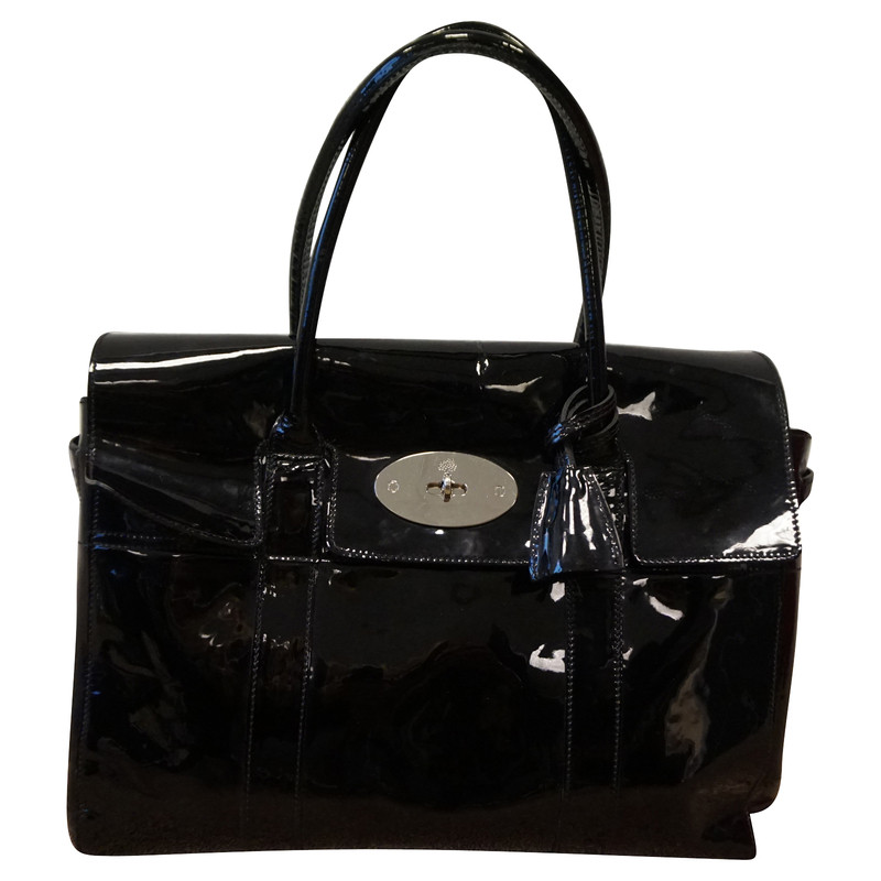 """Mulberry Bag """"Bayswater"""" in patent leather"""