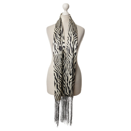 Just Cavalli for H&M Animal print satin scarf