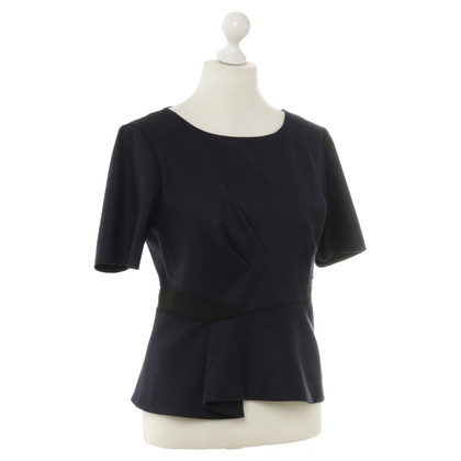 Elie Tahari top in dark blue