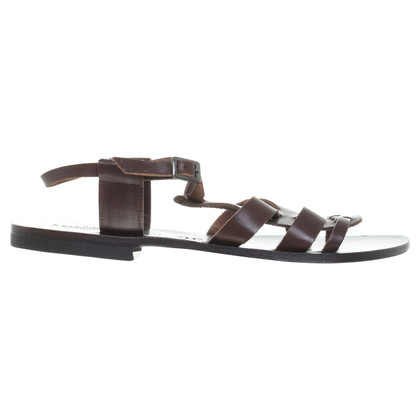Max Mara Roman sandals in Brown