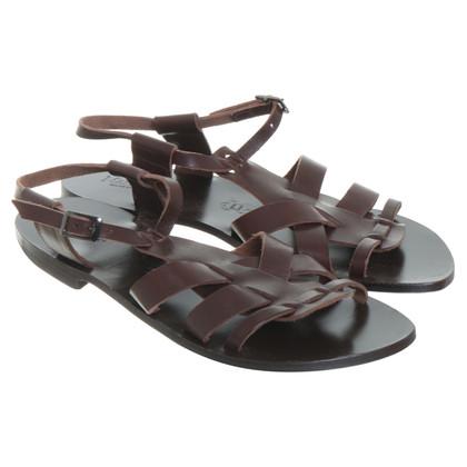 Max Mara Romeinse sandalen in Brown