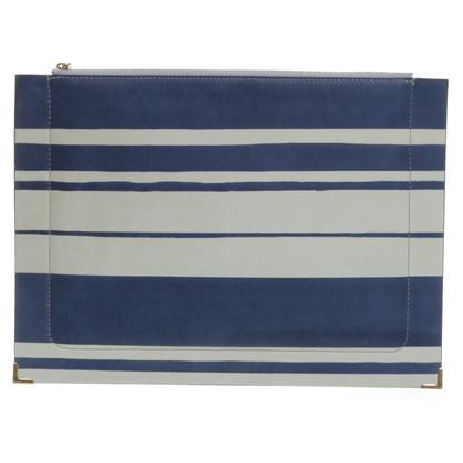 Chloé Clutch with stripes